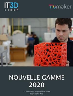 Catálogo Tumaker IT3D fr