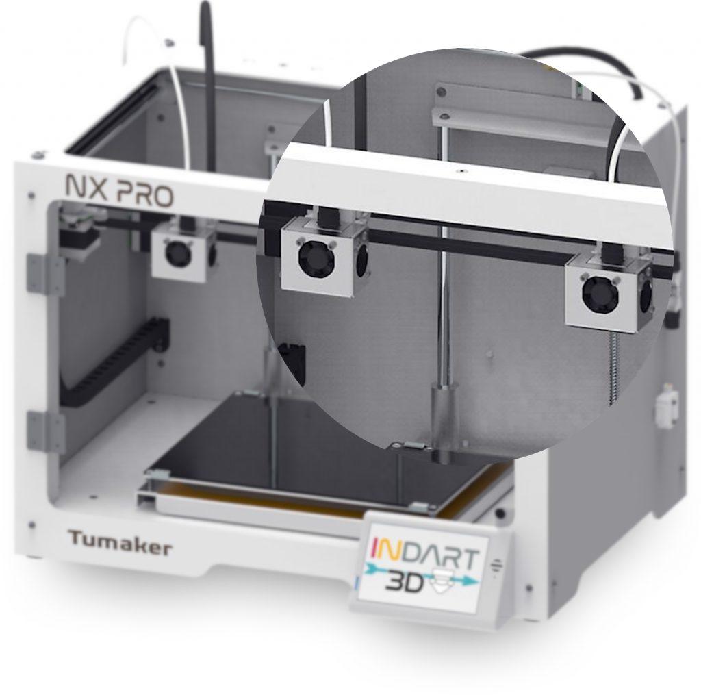 Impresora 3D Tumaker NX Pro Dual cabezales