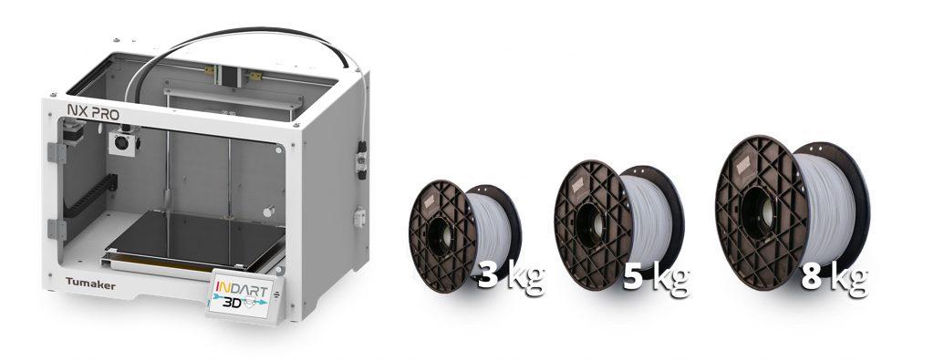 impresora-3d-tumaker-nx-pro-Filamento-gran-formato