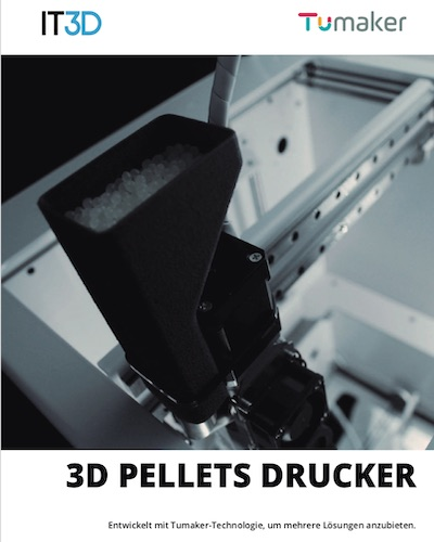 Tumaker Katalog 3D Drucker NX Pro Pellets Bigfoot Pellets series (de)