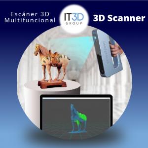 Escáner 3D Multifuncional