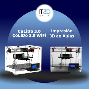 CoLiDo Impresión 3D en Aulas