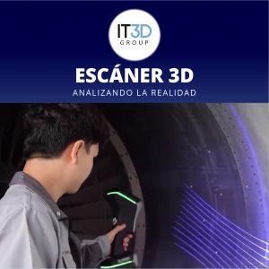 Analizando la realidad Escáner 3D