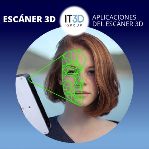 Escaneo 3D facial